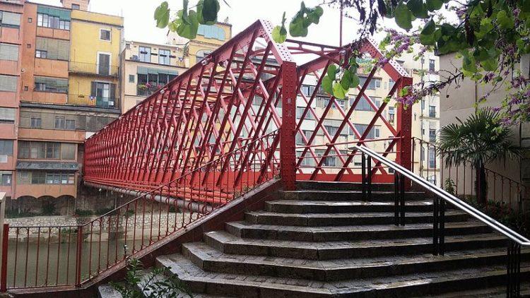 Мост Гюстава Эйфеля - достопримечательности Жироны