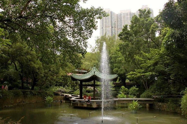 Коулунский парк в Китае