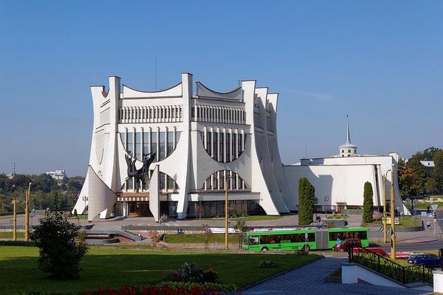 Гродненский драматический театр - достопримечательности Гродно