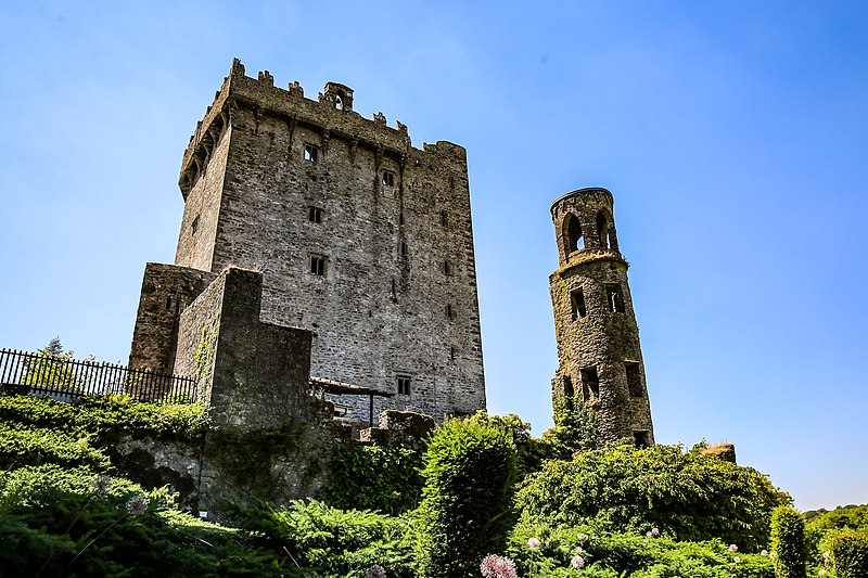 Замок Бларни в графстве Корк в Ирландии