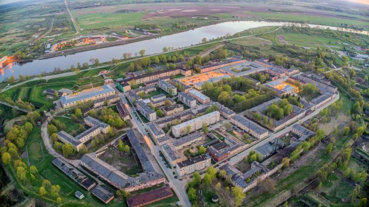 Даугавпилсская крепость в Латвии