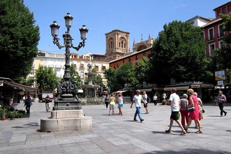 Площадь Биб-Рамбла в Испании