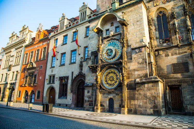 Пражские куранты в Чехии
