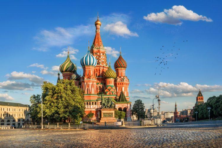 Храм Василия Блаженного в России