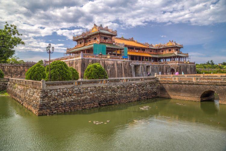 Запретный пурпурный город (Ту Кам Тхань) в Вьетнаме
