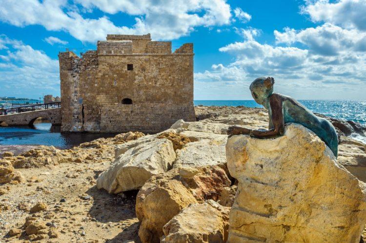 Крепость Пафоса на Кипре