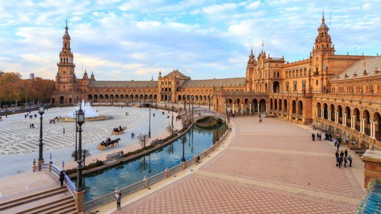 Площадь Испании в Испании