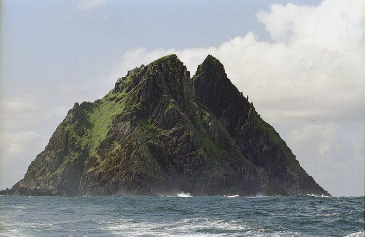 Скеллиг-Майкл в Ирландии