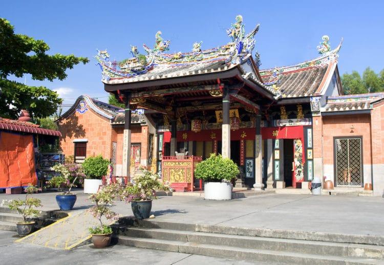 Змеиный храм в Малайзии