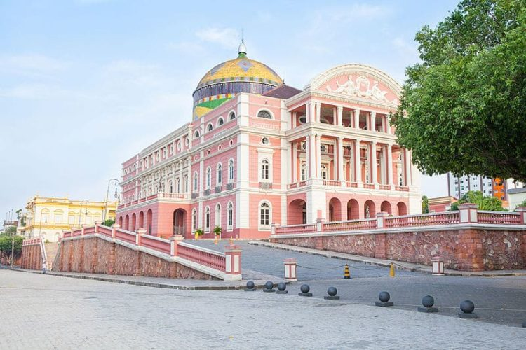 Театр Амазонас в Бразилии