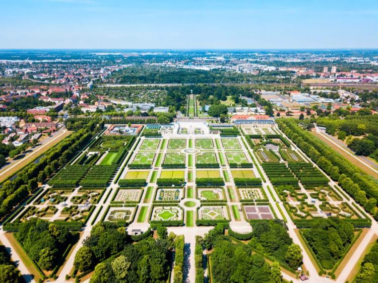 Королевские сады Херренхаузен - достопримечательности Ганновера