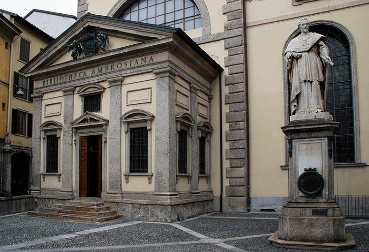 Амброзианская пинакотека в Италии