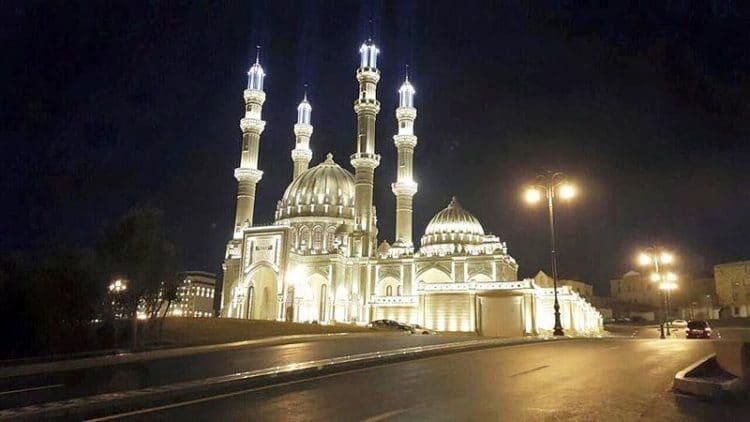 Мечеть Гейдара в Азербайджане