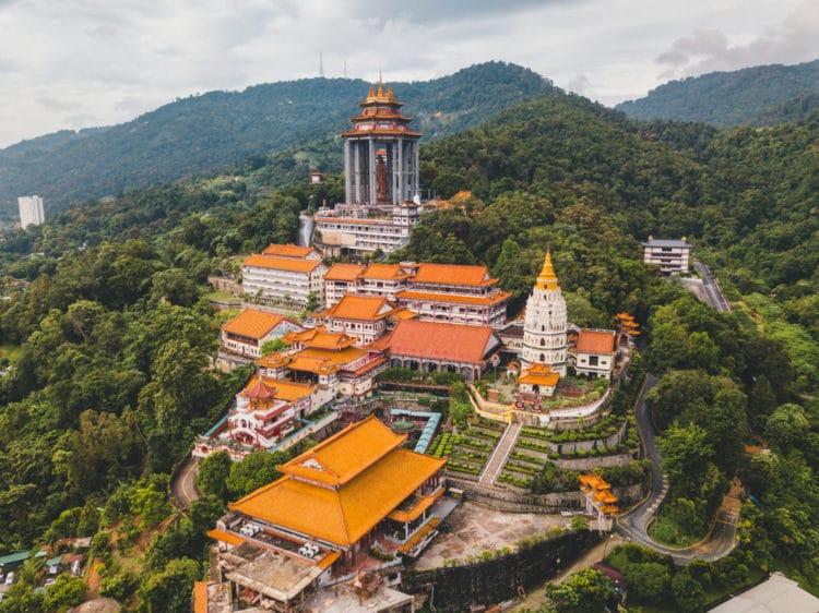 Храм Кек Лок Си в Малайзии