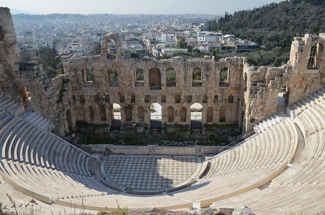 Одеон Герода Аттика в Греции