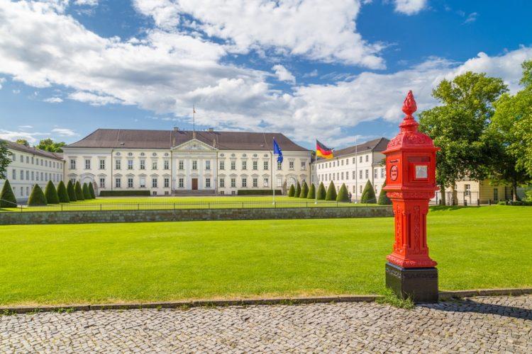 Дворец Бельвю в Германии