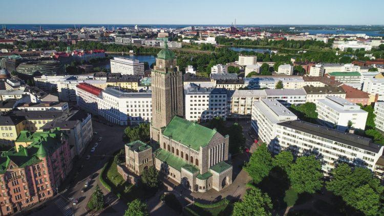 Церковь Каллио в Финляндии