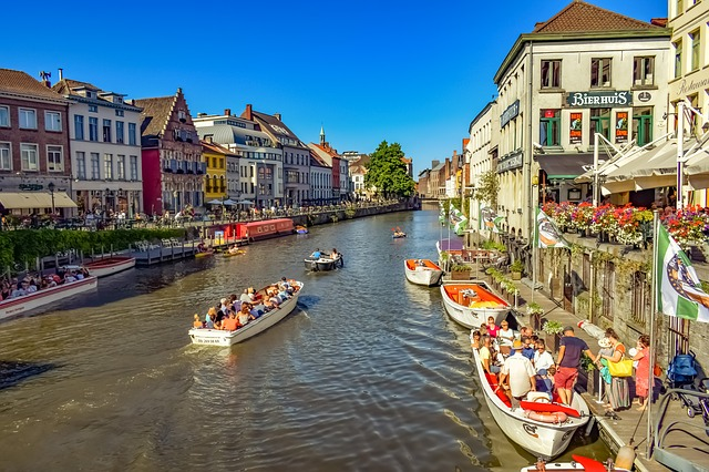 Каналы Гента - Что посмотреть в Генте