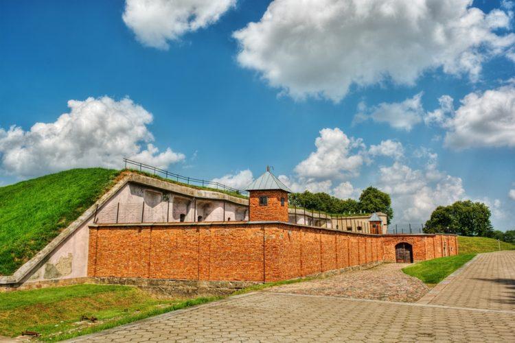 IX форт Ковенской крепости в Литве