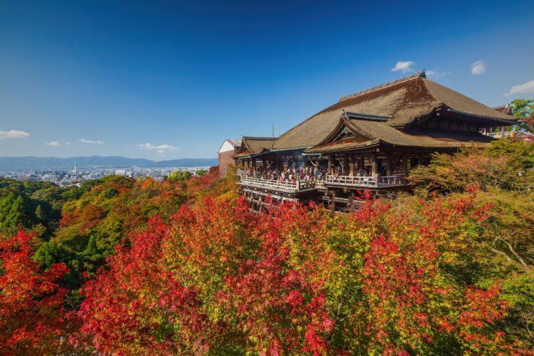 Храм Киёмидзу-дэра в Токио