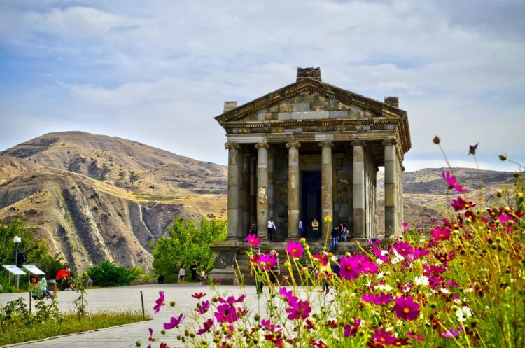 Храм Михра в Армении
