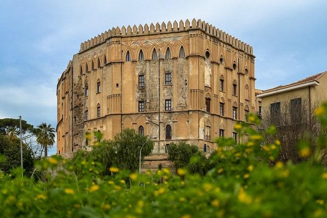 Норманнский дворец в Италии