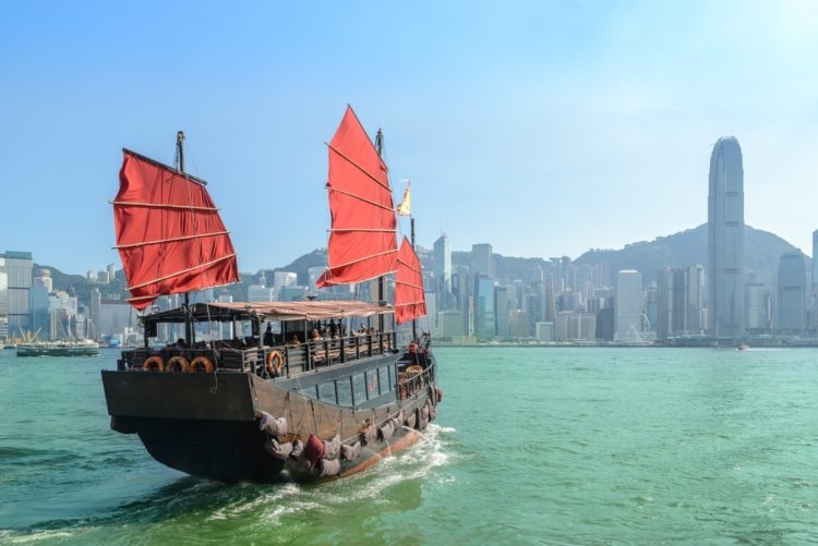 Бухта Виктория в Китае