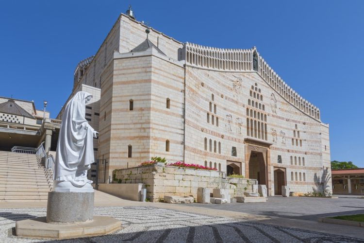 Базилика Благовещения в Израиле