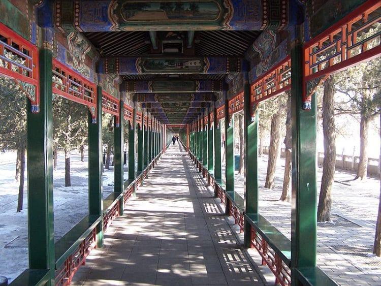 Галерея Чанлан в Китае
