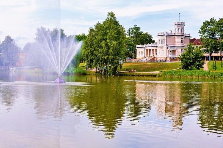 Город Друскининкай в Литве