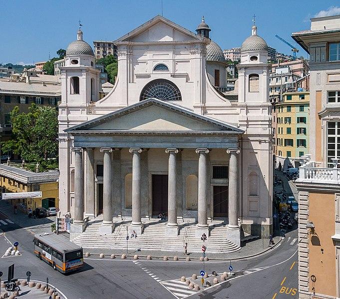 Базилика Сантиссима Аннунциата дель Вастато - достопримечательности Генуи