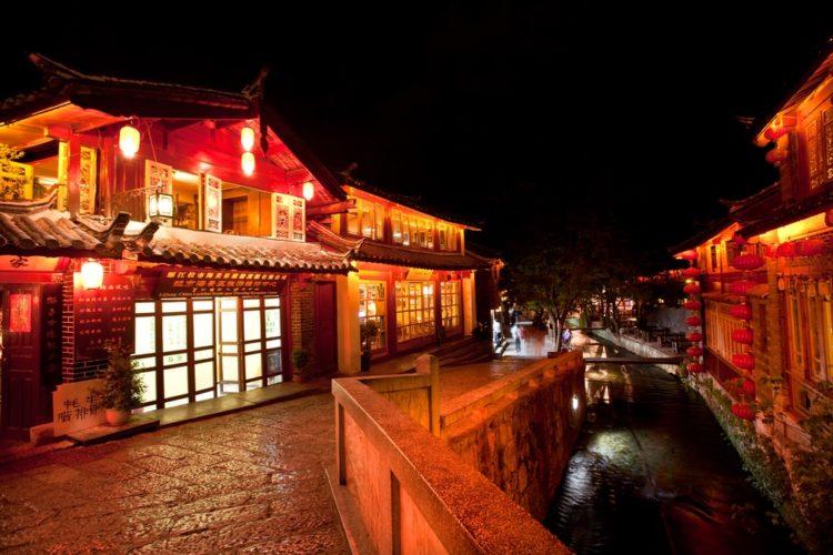 Старый город Лицзян в Китае