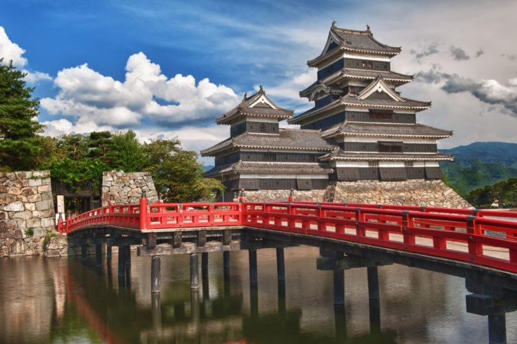 Замок Мацумото в Токио