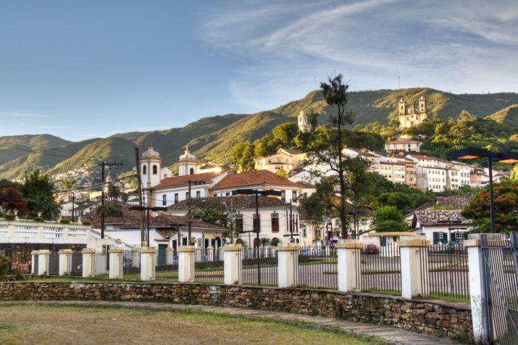Город Ору-Прету в Бразилии