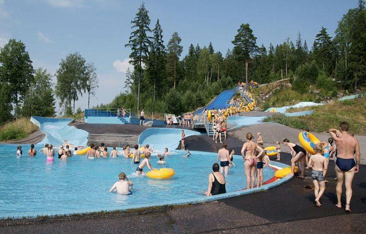 Аквапарк Серена в Финляндии