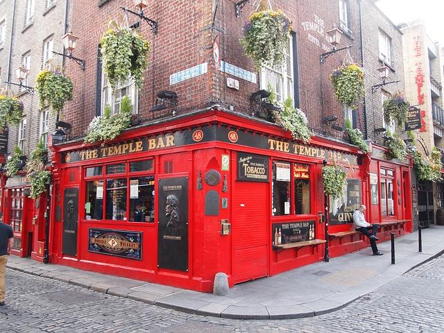 Темпл-Бар в Ирландии