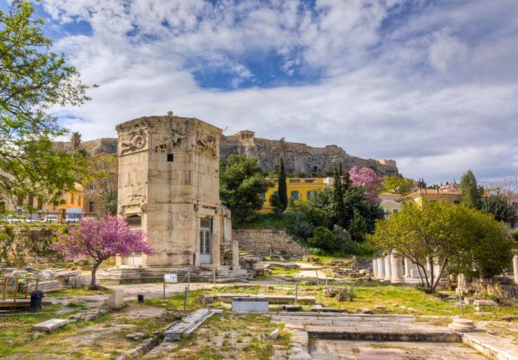 Башня Ветров в Греции