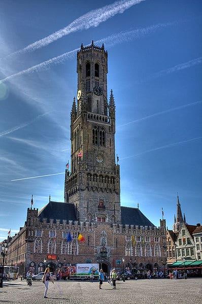 Колокольня Белфорт в Бельгии