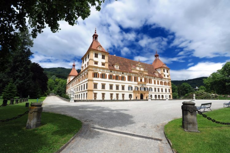 Дворец Эггенберг в Австрии