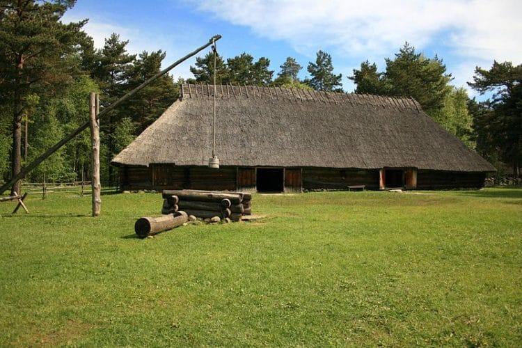 Эстонский музей под открытым небом в Эстонии