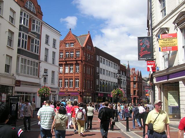 Графтон-стрит в Ирландии