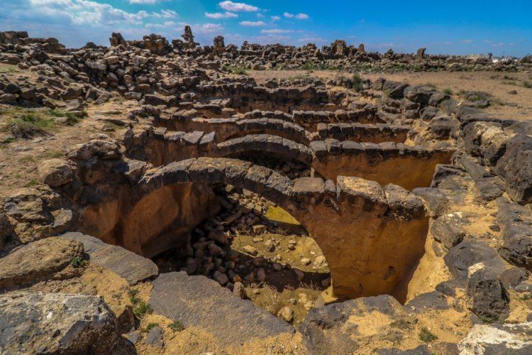 Руины Умм аль-Джималь в Иордании