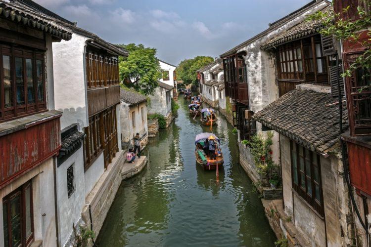 Чжоучжуан в Китае