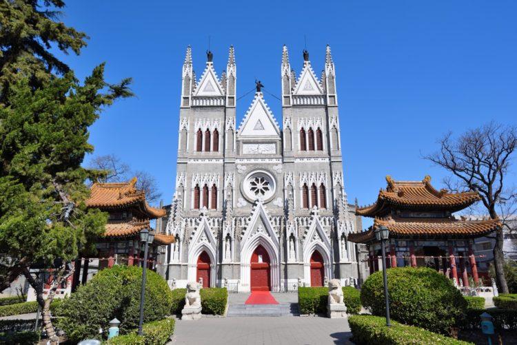Кафедральный собор Сишику в Китае