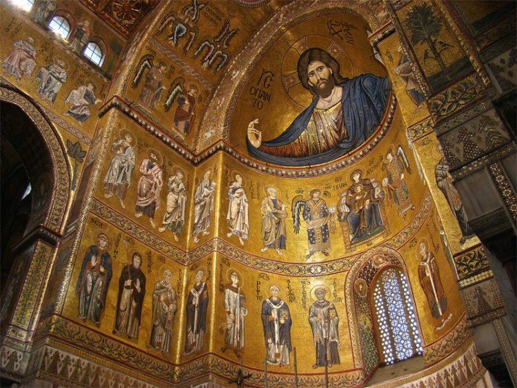 Собор Монреале в Италии