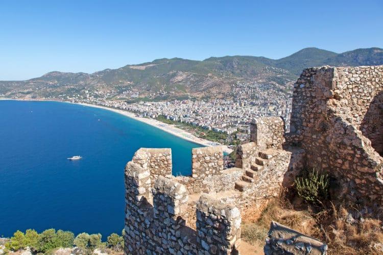 Крепость в Турции