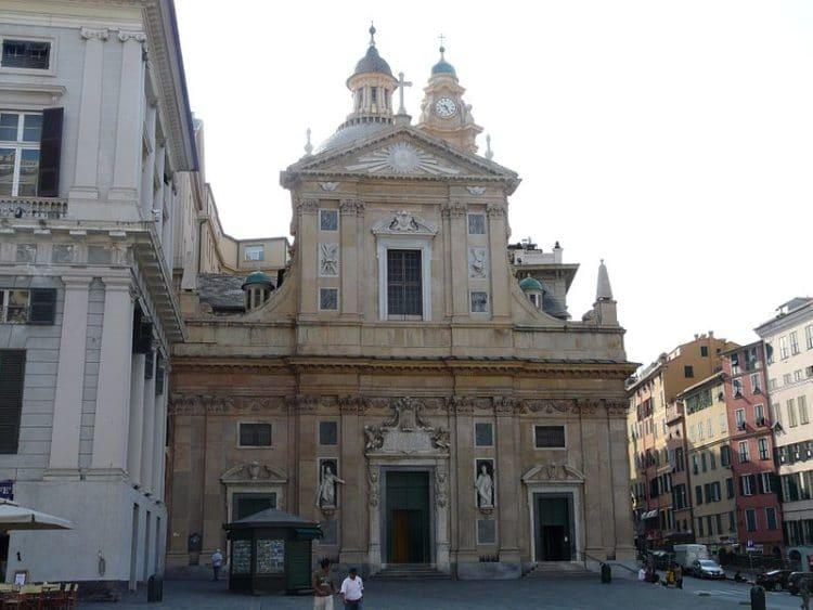 Церковь Святых Амвросия и Андрея - достопримечательности Генуи