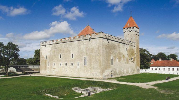 Крепость Курессааре в Эстонии