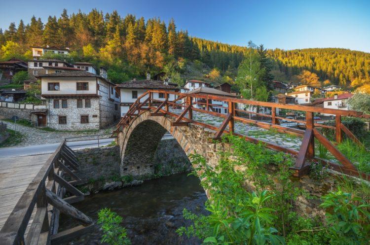 Село Широка-Лыка в Болгарии