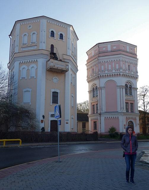 Водонапорные башни «Кася» и «Бася» - достопримечательности Гродно